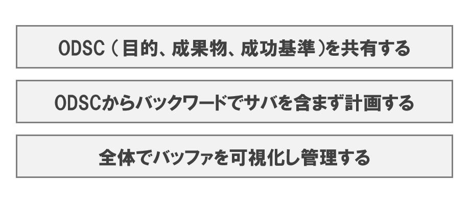 TOC/CCPMのカギになるODSCの基本を解説(書評:マネジメント改革の工程表)