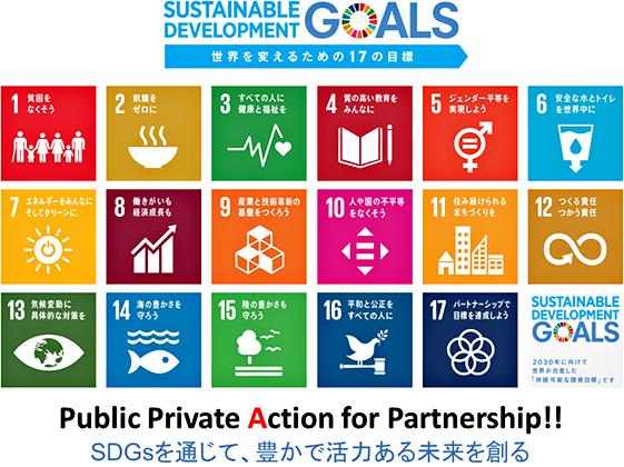 世界を変えるための17の目標SDGs