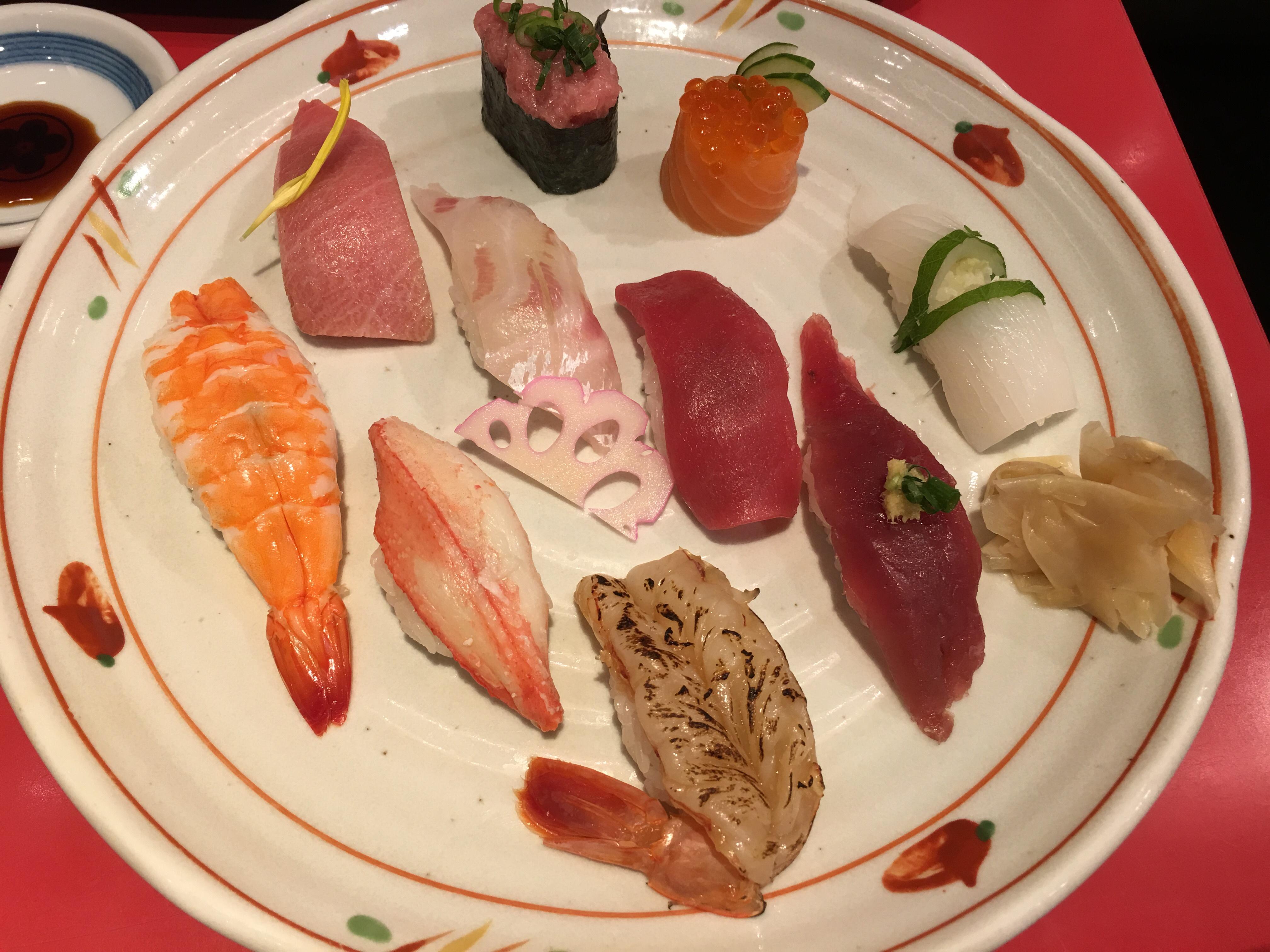 金沢まいもん寿司 珠姫 玉川高島屋S・C店とてもおいしい